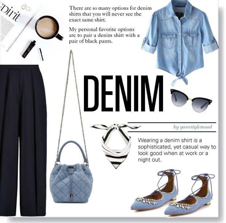 Denim mood – denim shirt