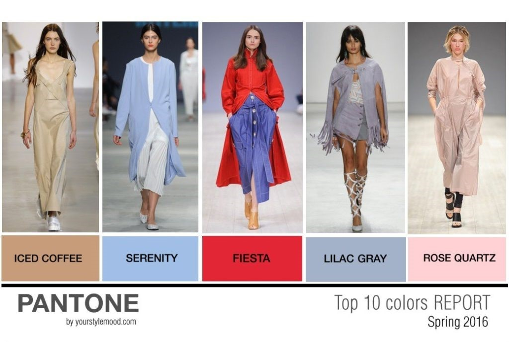 Top 10 Pantone colors trend report