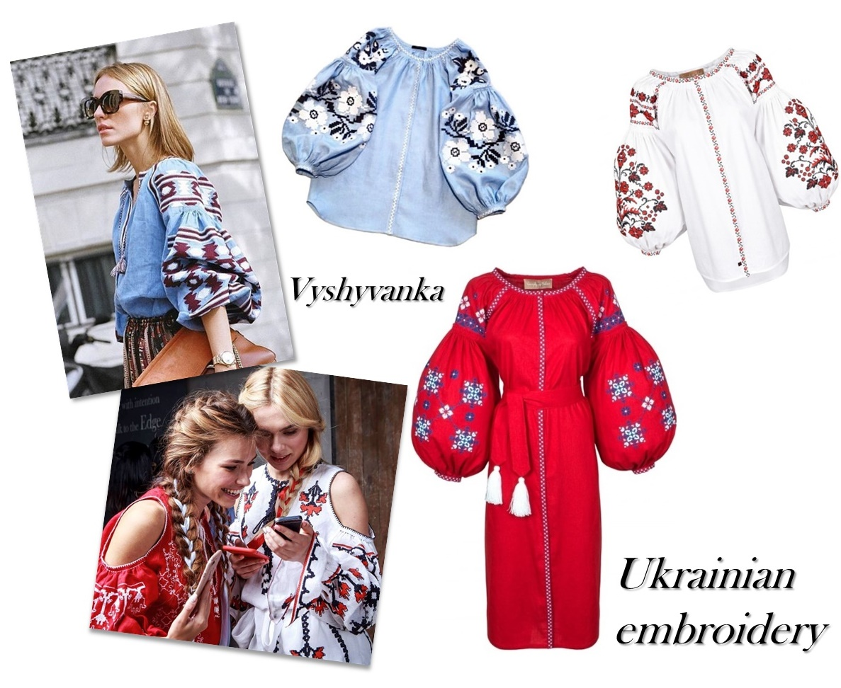 Ukrainian embroidered – Vyshyvanka