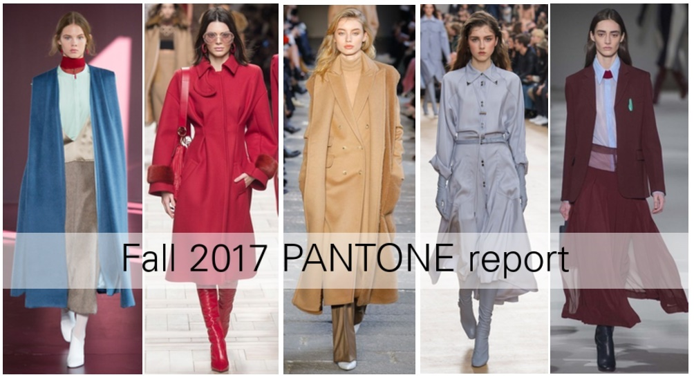 Top 10 Pantone report Fall 2017
