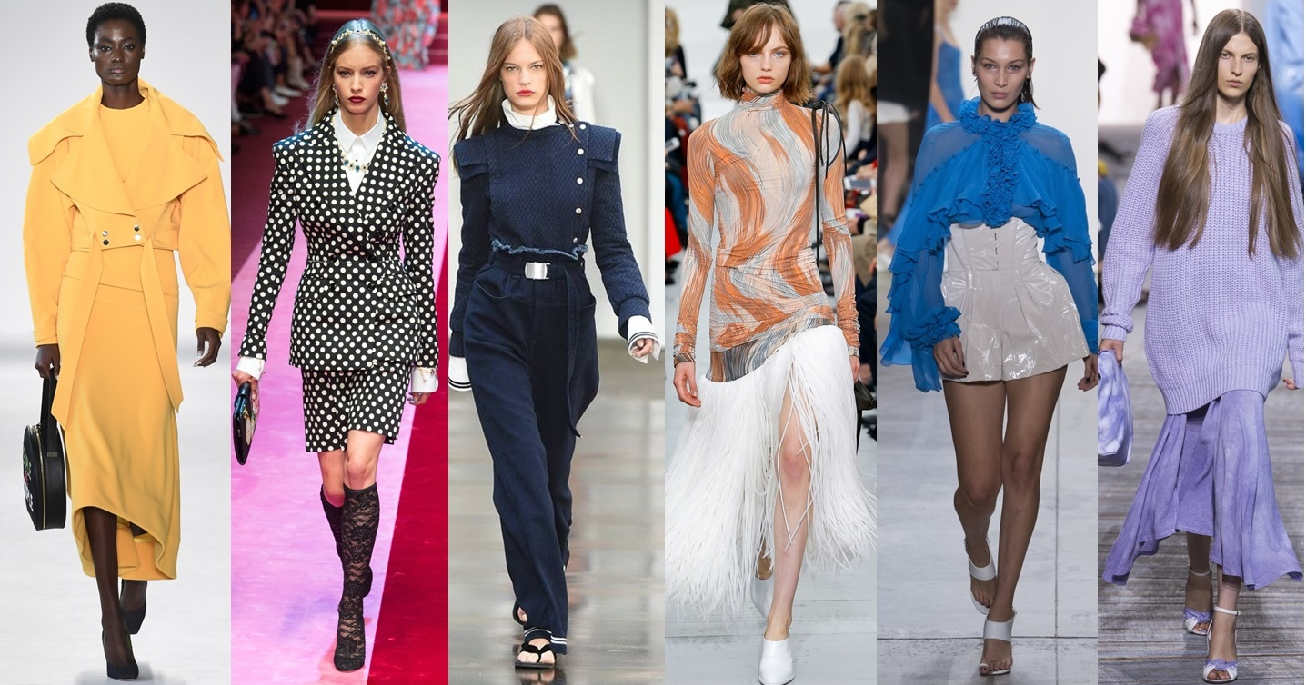 Trend report for Spring 2018