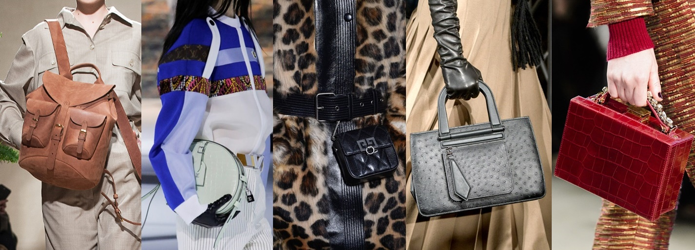 9 trendy bags for upcoming Fall – Тренды осени 2018 – Сумки