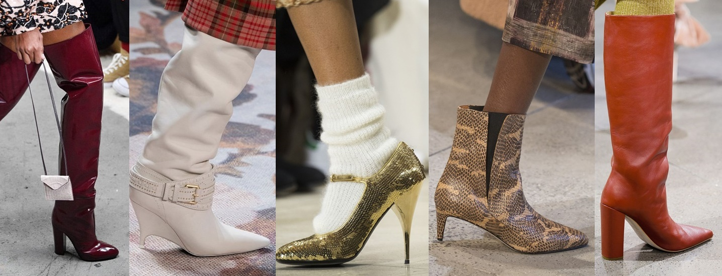 8 SHOE Trends FOR UPCOMING FALL – ТРЕНДЫ ОСЕНИ 2018 – ОБУВЬ