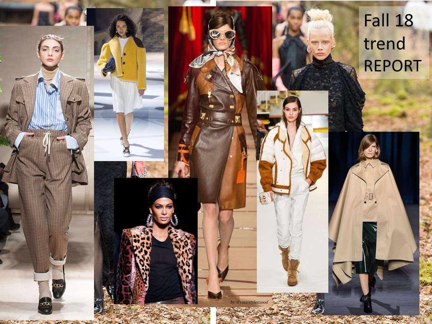 Top 10 Fall Trends – тренды осени 2018